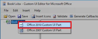 Custom UI Editor Tool インストール方法 - Office