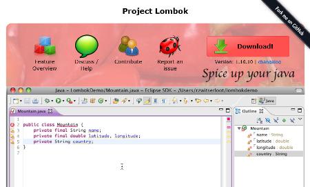 Lombokを使ってJavaBeansコードをシンプルに書く方法
