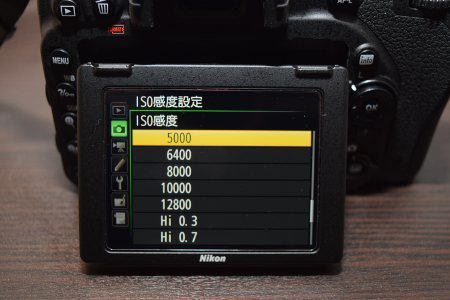 Nicon(ニコン) D750 ISO感度