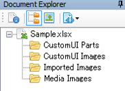 Office Ribbon Editor Document Explorer
