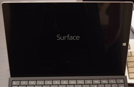 Surface3起動