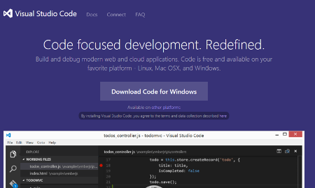 Visual Studio Code - Code Editing. Redefined.