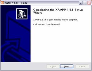 XAMPPインストール5